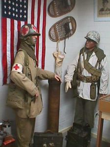 U.S. medic and infantry soldier Ardennes