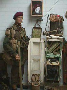 British signals paratrooper